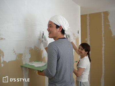 壁塗り大会