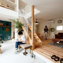 趣味と暮らしが寄り添い合う家。0