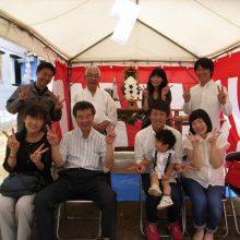 増谷邸地鎮祭