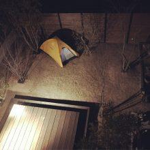 庭☆テント泊