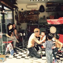 garage hairsalon