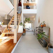 開放感たっぷりの大自然をタノシム家+神戸OFFICE。1