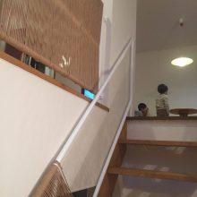 廊下と階段の手すり