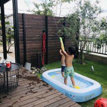 夏だ!プールだ!水鉄砲だ!