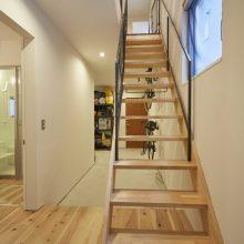 アウトドア好き夫婦が選んだ3階建て。4