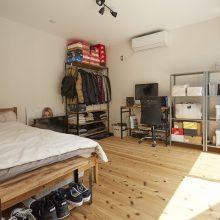 プライベートな空間も確保した二世帯で暮らす家。3