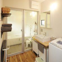 プライベート感のある和室をプラスした家。3