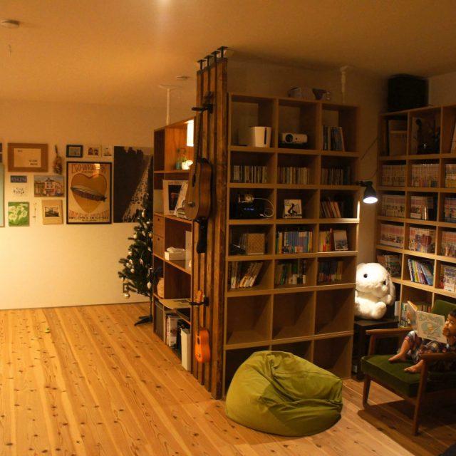 我が家の図書館と美術館