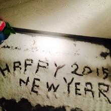 初雪!!2015