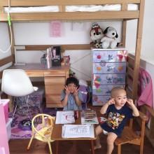 お姉ちゃんのお部屋にて。