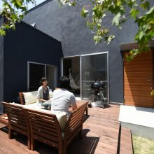 プライベートスペースが魅力の家。4