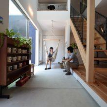 プライベートスペースが魅力の家。2