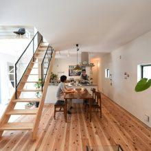 プライベートスペースが魅力の家。1
