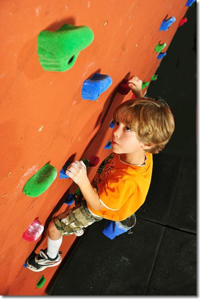 on_climbing_wall