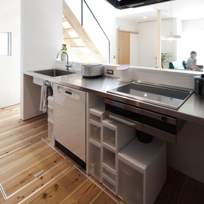 キッチン下棚2
